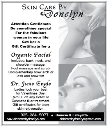 Magazine ad for Skincare by Donelyn