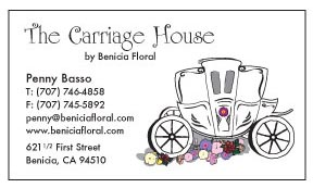 Business Card for The Carriage House