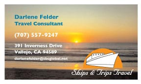 Business Card for Travel Agent
