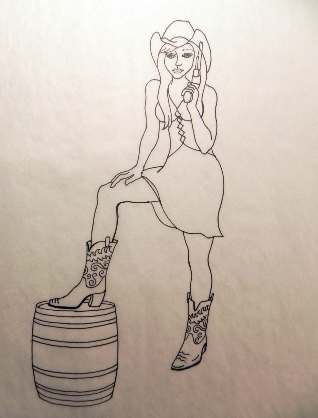 Drawing for Bootleg Wine