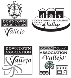 Logo designs for Downtown Assoc. of Vallejo