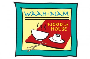Logo for Waah Nam Noodle House